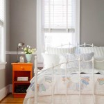 7-asortare portocaliu cu gri si alb amenajare dormitor