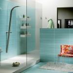 7-baie moderna culoare alba cu turcoaz