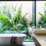 7-baie stil minimalist mare si frumoasa cu cada ovala