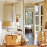 7-baldachin cu perdele din voal al vaporos decor dormitor