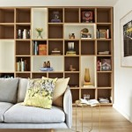 7-biblioteca polite de diferite dimensiuni pentru living modern