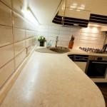 7-blat de lucru bucatarie moderna in crem si wenge apartament 42 mp