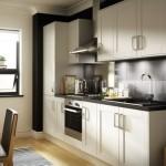 7-bucatarie alb negru cu mobila moderna alba