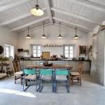 7-bucatarie mare spatioasa cu loc de luat masa casa de vacanta vila Iriti Corfu