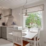 7-bucatarie si loc de luat masa casa mica din lemn 57 mp