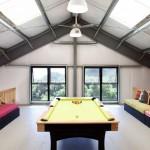 7-camera de relaxare cu masa de biliard mansarda