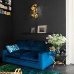 7-canapea cu doua locuri albastru electric decor living mic