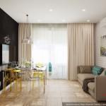 7-canapea si loc de luat masa bucatarie mare si spatioasa apartament 2 camere nou