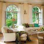 7-canapele si fotolii crem decor living elegant zugravit in galben pal