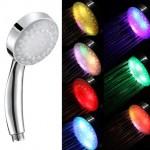 7-cap de dus cu 7 lumini colorate LED care se schimba automat pret 1 euro