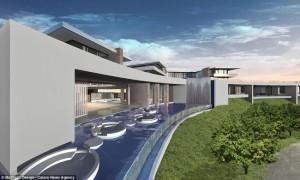 7-cea mai scumpa casa din lume cu piscina Infinity 500 milioane USD