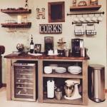 7-chicineta rustica cu minibar polite si dulap vintage