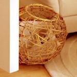 7-cos din nuiele de forma sferica pentru reviste