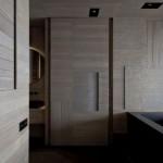 7-design baie moderna ultraminimalista cu cada neagra