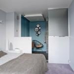 7-dormitor apartament modern dupa renovare usa culisanta spre living