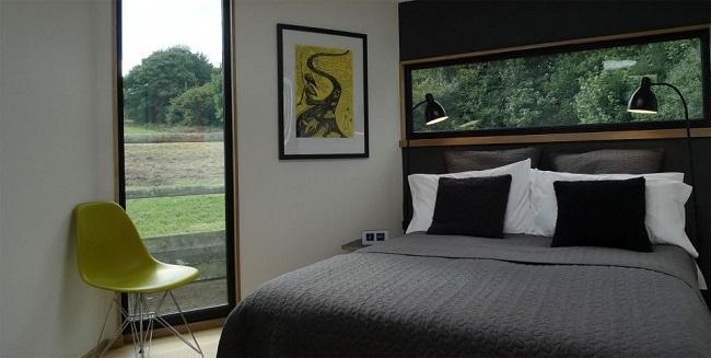 7-dormitor casa modulara in forma de fagure