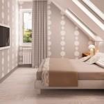 7-dormitor matrimonial mansardat proiect casa mica 99 mp