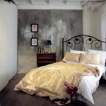 7-dormitor romantic cu elemente vintage si asternuturi aurii