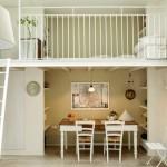 7-dormitor secundar amenajat deasupra loculiu de luat masa din sufragerie