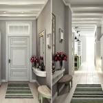 7-dulap alb mare amenajare hol mic de apartament