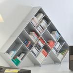 7-etajera pentru carti design inedit modern