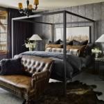 7-exemplu amenajare dormitor masculin sobru cu accente rustice