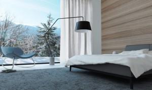 7-exemplu amenajare dormitor modern minimalist in ton cu peisajul de iarna