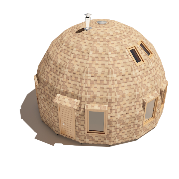 7 Exterior Schita Casa Din Lemn In Forma De Dom Dobrosfera Casadex Ro