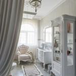 7-fotoliu alb cu crem elegant ideal pentru decoruri clasice