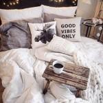 7-ghirlanda cu luminite decor perete dormitor calduros