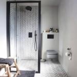 7-idee amenajare baie stil scandinav cu cabina de dus