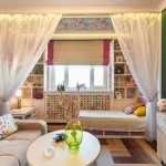7-idei amenajare garsoniera cu living si dormitor