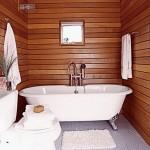 7-lambriu din lemn rezistent umezeala finisaj baie moderna