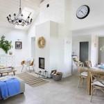 7-living bucatarie si loc de luat masa open space casa amenajata in stil scandinav