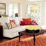 7-living colorat cu accente cromatice rosii decor plin de viata