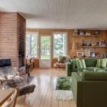7-living spatios cu semineu proiect casa doar parter fara etaj