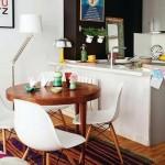 7-loc de luat masa intre bucatarie si living open space