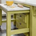7-masa extensibila integrata sub blatul de lucru din bucatarie