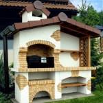 7-model de gratar rustic de gradina construit din caramida