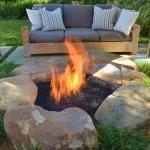 7-model foc de tabara de gradina stil rustic