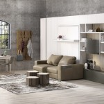7-model mobila living cu pat rabatabil canapea biblioteca si dulapuri
