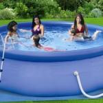 7-model piscina gonflabila rotunda cu filtre curatare si scara acces