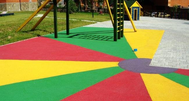 7-pardoseala teren de joaca pentru copii finisata cu tartan