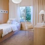 7-perdele dublate de rolete din bambus decor dormitor modern