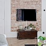 7-perete living stil scandinav cu caramida bruta expusa