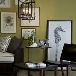 7-perete olive living accente clasice
