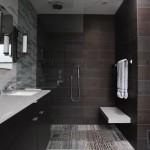 7-pereti baie accentuati cu faianta de diferite culori si texturi