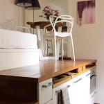 7-platforma inaltata mobilier dormitor mic cu dulapuri si sertare