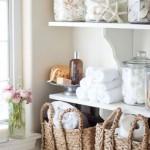 7-polite pentru organizarea obiectelor de igiena din baie