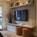 7-polite suspendate decor perete televizor living mic